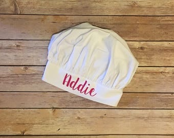 Kids Personalized Chef Hat