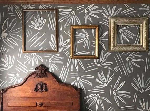 Hand Painted Wall