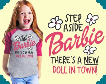 New Doll In Town | Girl Clothes | Personalized Baby | Custom Baby Gift | Custom Baby Clothes | Kids Tshirt | Teal Blvd