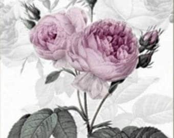 20 33 cm VINTAGE flower collage decoupage paper napkins