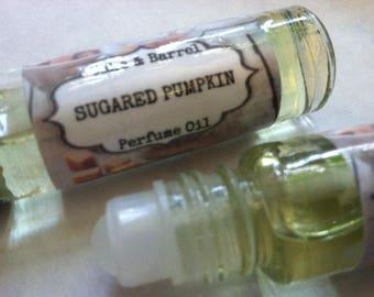 Sugared Pumpkin Roll On Perfume 10ml. Pumpkin & Brown Sugar.