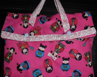 bag pattern Chinese dolls for girl