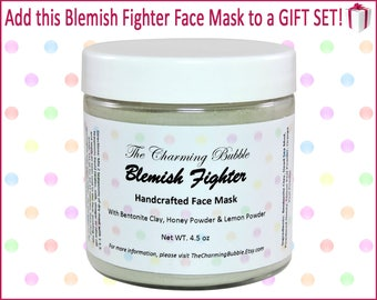 Face Mask for Acne, Acne Treatment, Bentonite Clay Mask, Clay Mask, Face Mask, Facial Mask, Dead Sea Mud Mask, Mud Mask, Spa Set, Spa Gift