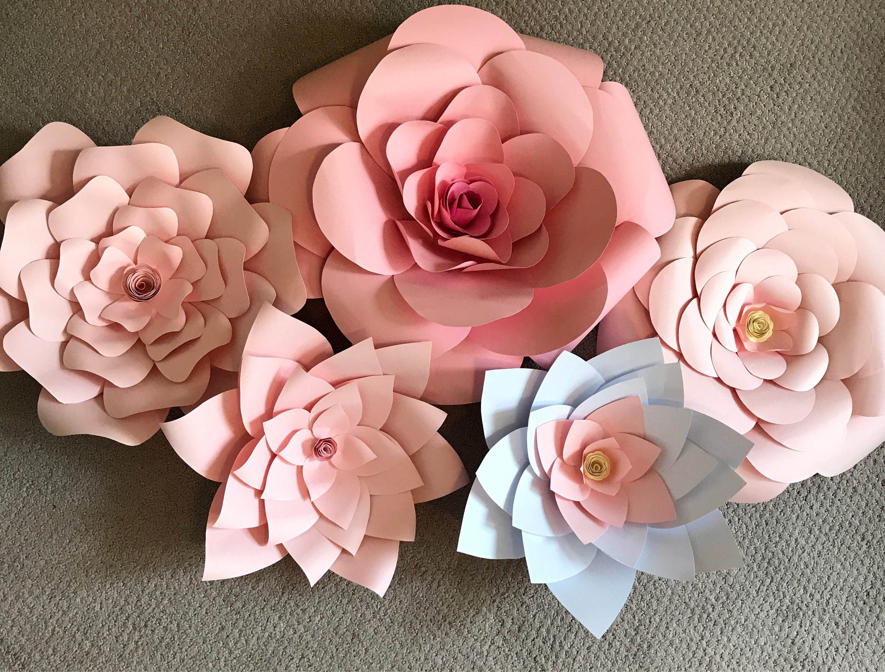 Special Price Paper Flowers Flower Backdrop 3d Flowers Wall