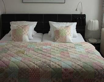 Design your patchwork quilt, Custom order, Custom your quilt from Tilda fabrics, Patchwork quilt, Tilda, Custom quilt, Made to order quilt