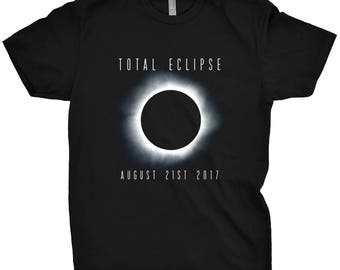 Total Eclipse August 21st 2017 Shirt Astronomy T-Shirt Math Science 8-21-2017