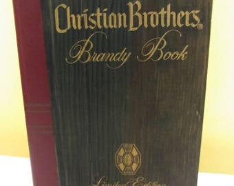 The Christian Brothers Brandy Book Volume 1 Limited Edition 1982 Empty