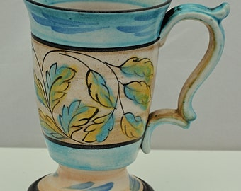 Superb Colorway DENBY GLYN COLLEDGE Ornate Mug Signed