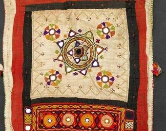 Rare Banjara sack Bags, Boho embroidery bag, Indian Tribal bag, Gypsy sack bag