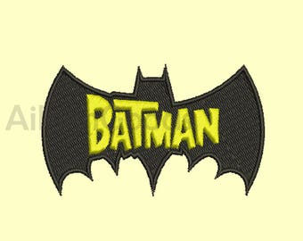 Batman Embroidery  design 5 Size  INSTANT download machine embroidery