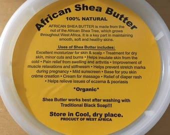 Organic African Shea Butter