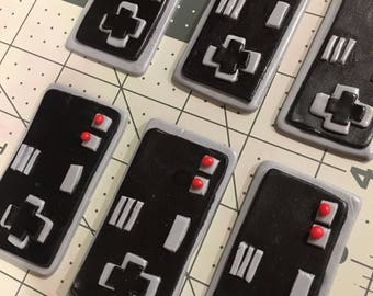 Video Game Controller Fondant Cake & Cupcake Toppers