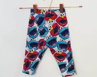 Elmo and Cookie Monster bottoms