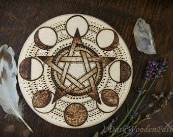 Phases of the Moon pentacle