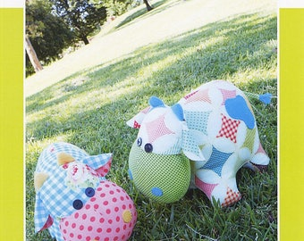 Moo Moo Cows Stuffed Animal Pattern by Melly & Me
