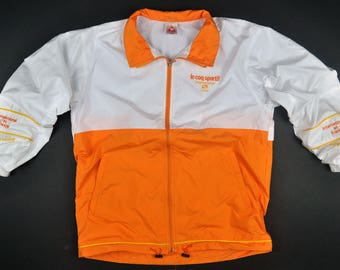 Le Coq Sportif Light Jackets Chest Scripts Medium Size // Le Coq Sportif Street Sports Casual Sleeve Wrist Signature