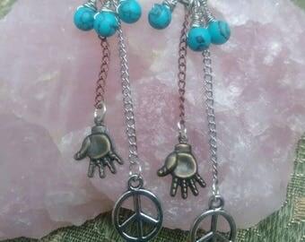Hands of Peace Earrings