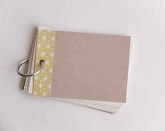 Single ring notepad