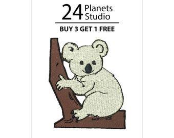 Koala Iron on Patch by 24PlanetsStudio