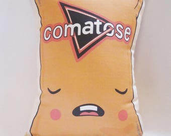 Comatose Chip Pillow