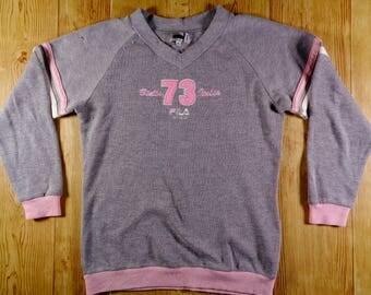 20% OFF Vintage FILA Intimo Biella Italia Sweatshirt Pullover Women Size