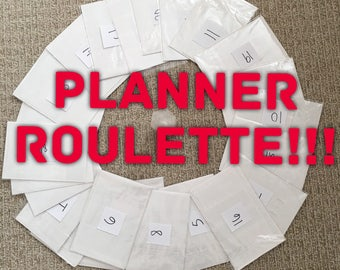 Planner roulette