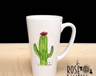 Big Mug, Macaroons, Foodie Gift, Colorful Mug