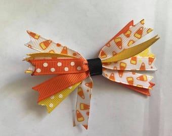 Halloween Spike Bow, Clip, Headband