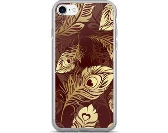 Feather iPhone Case, Phone Case Feather, Feather Phone Case, Protective iPhone Case, iPhone 7 Case, iPhone 6 Case, iPhone 5, Feathers iPhone