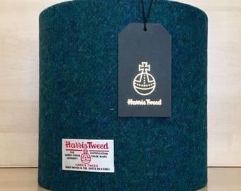 Harris Tweed 20cm Lampshade - Handmade Lamp Shade - Harris Tweed - Wool Lampshade - Authentic Harris Tweed - Scottish Style - Scottish Inter