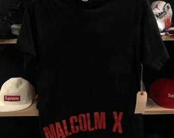 All over print malcom X shirt