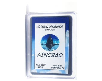 Aincrad - Scented Soy Anime Wax Melt Tart - Sword Art Online