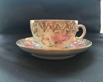 Beautiful Vintage Austrian Tea Cup an Saucer