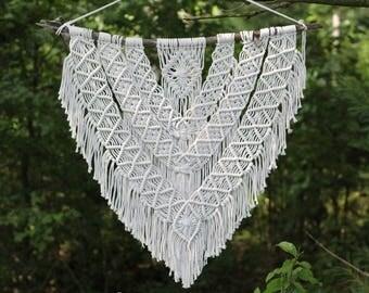 Macrame Wall Hanging // Boho Wall Hanging // Macrame Hanging // Large Wall Tapestry // Wedding Decor // Home Decor // Ready To Ship