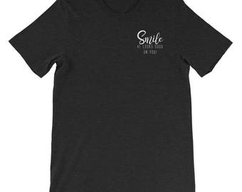 Smile T-Shirt with Back Print