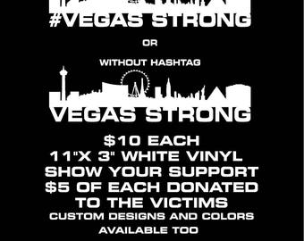 Vegas Strong Decal Etsy - Custom vinyl decals las vegas