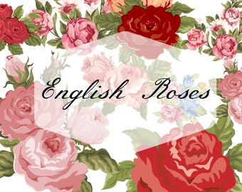 English Roses - 6oz Hand-poured Bookish Candle