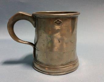 Pre 1878 Pewter Mug