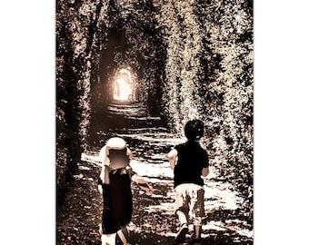 A4 children worked running photography