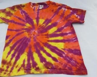 Children's Tie Dye T Shirt- X Small