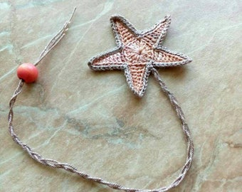 Crocheted bookmarks. Bookmark