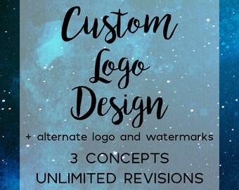Custom Logo Design, Watermark, Photographer Logo and Branding, Small Business Logo, Hand Drawn Logo, Brand Identity, Photography Logo