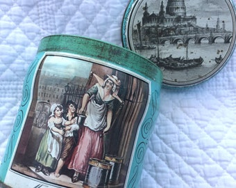 Vintage Murray Allen Imported Quality Confections Tin