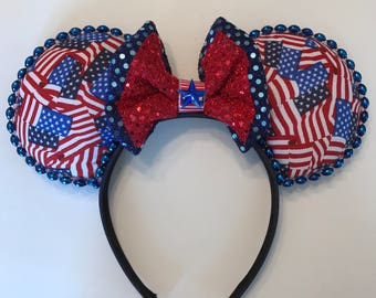 Star Spangled Mouse ears