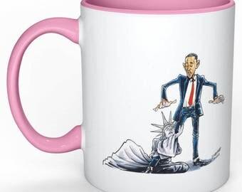 Sale Barack Obama Pink Coffee Mug