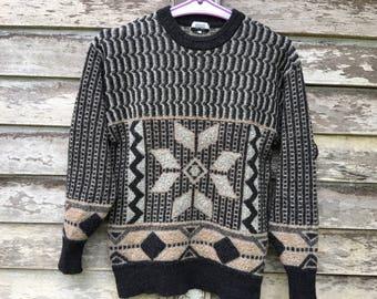 Jean Louis Scherrer wool sweatshirt jacket L size