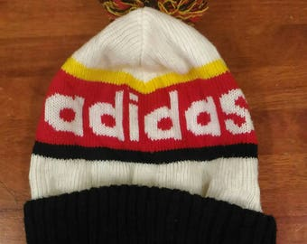 Vintage ADIDAS Big Logo /Colour Block/Winter/Show Cap
