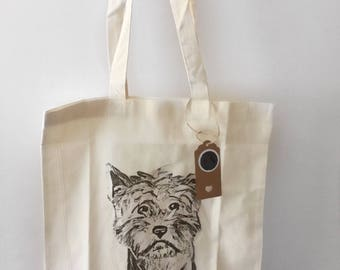 Westie shopper bag - choice of 2 designs