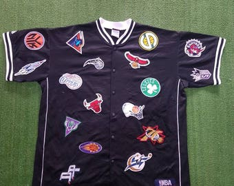 NBA T Shirt Full Patches (XXL)