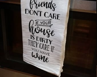 Decorative tea towel